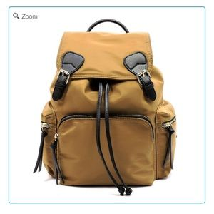 Handbags - NEW Nylon Drawstring Large Backpack